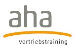 Partner AHA Vertriebstrainerin